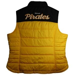 G-III Pittsburgh Pirates Puffer Vest